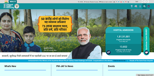 Check The Eligibility Under PM-JAY